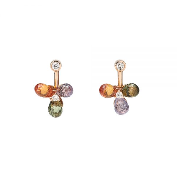 Aurora Flower Earrings