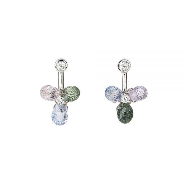 Aurora Flower Earrings