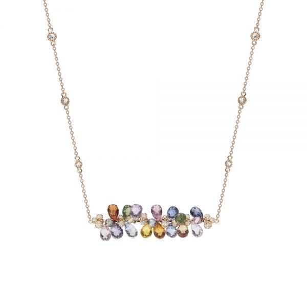 Aurora Necklace Rose Gold