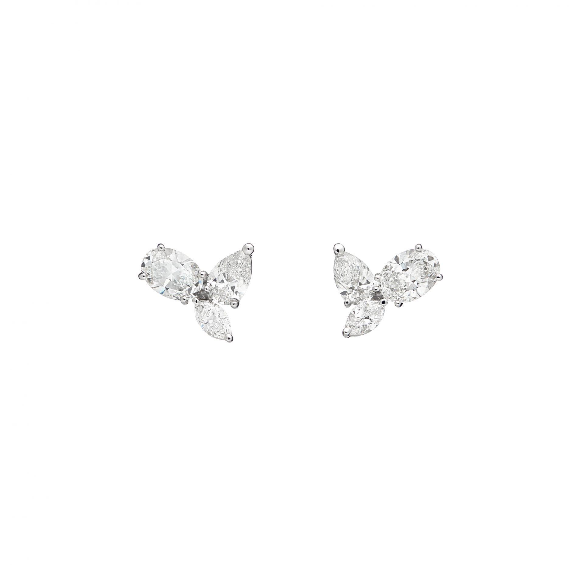 Felicity Trois Oval Earrings