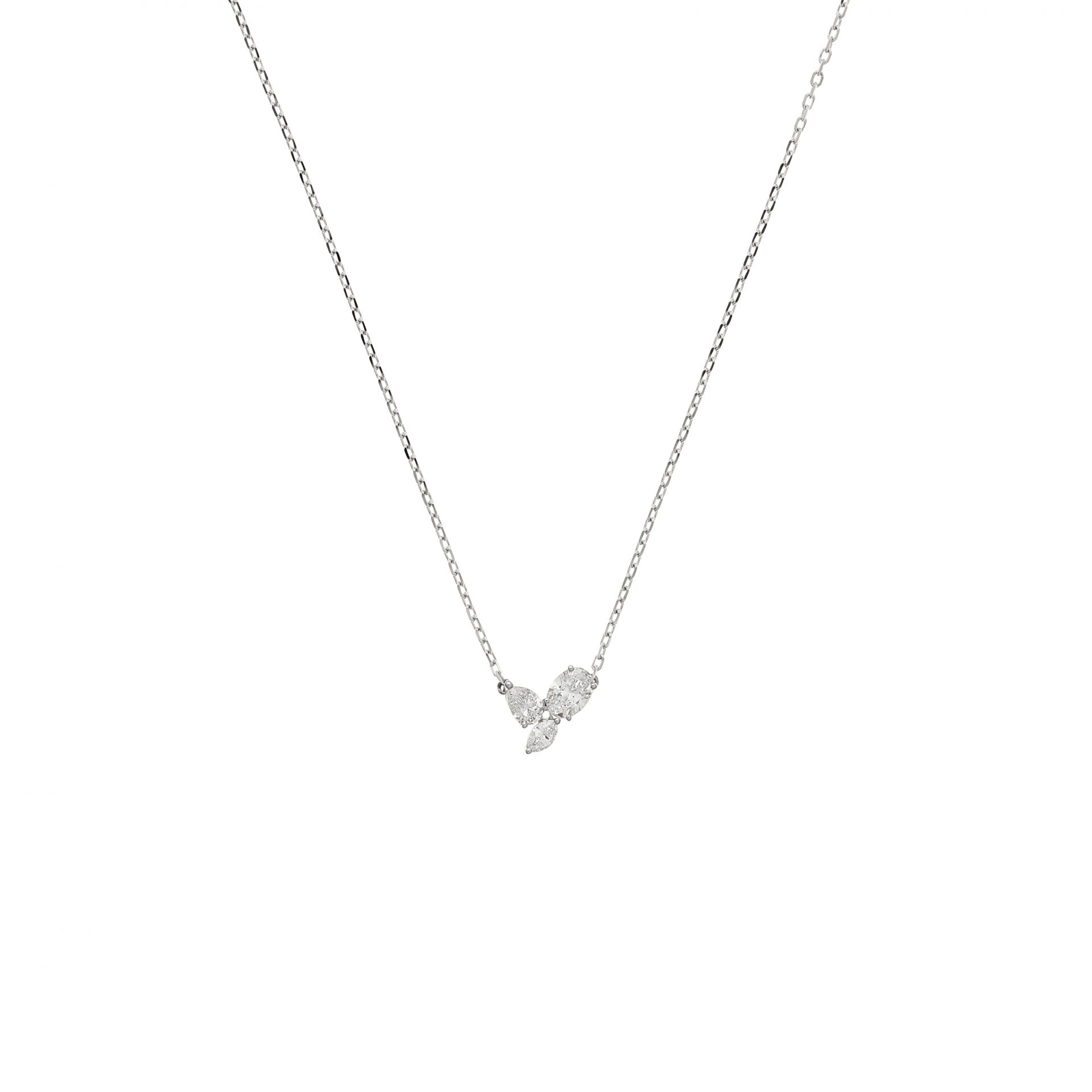 Felicity Trois Oval Necklace