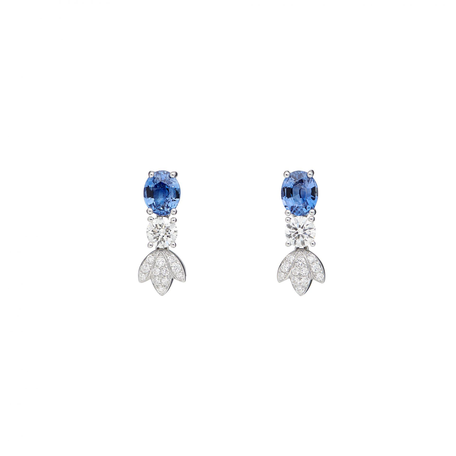 Lily Bleue Earrings