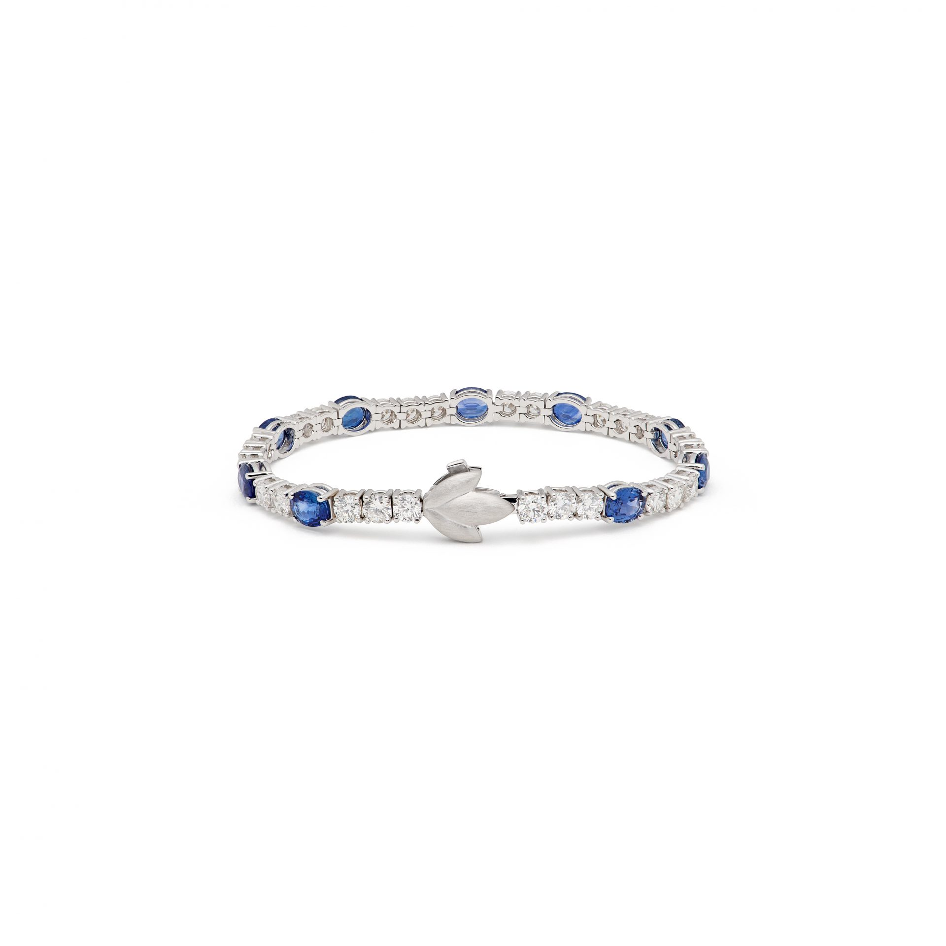 Lily Bleue Tennis Bracelet