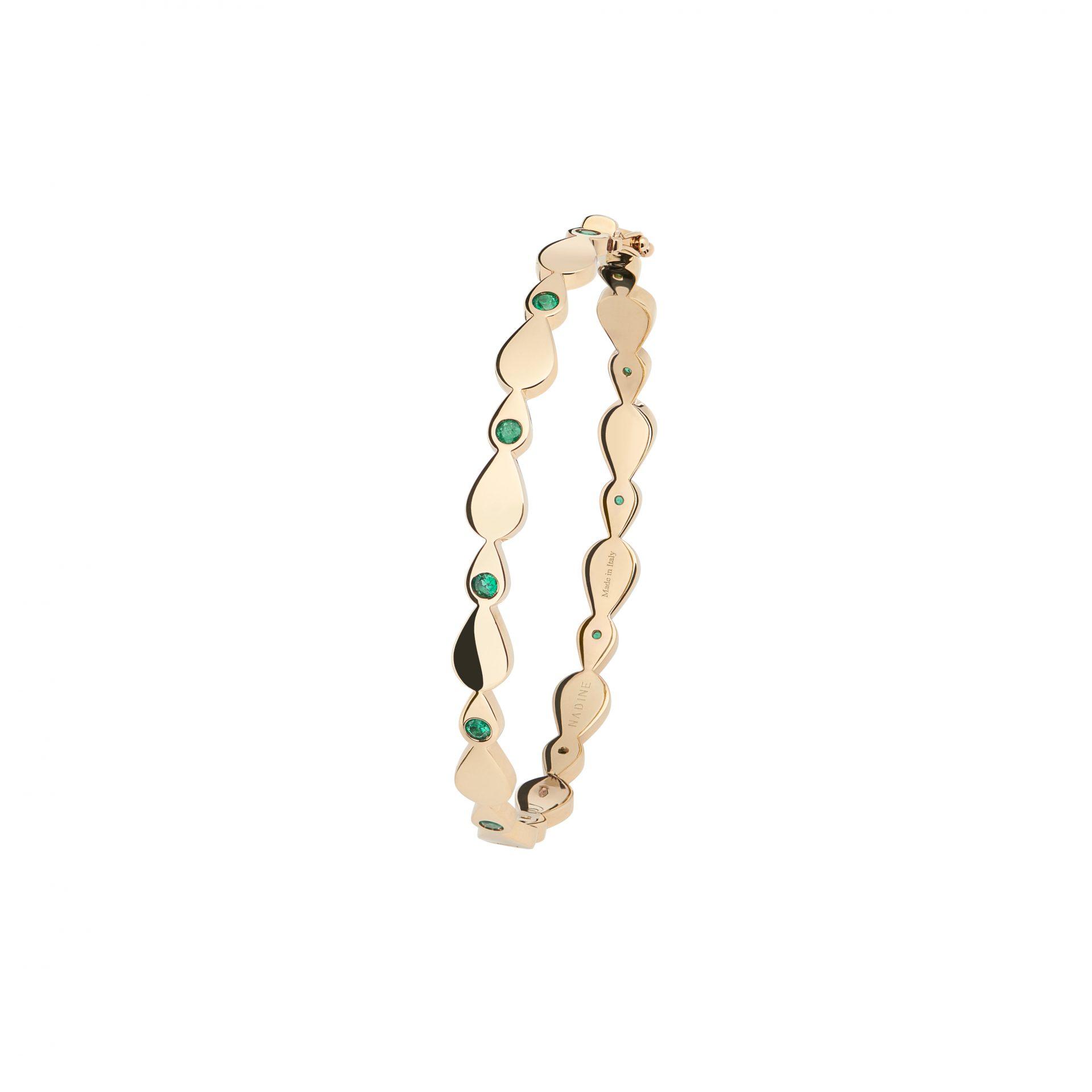 Emerald Candy Bracelet