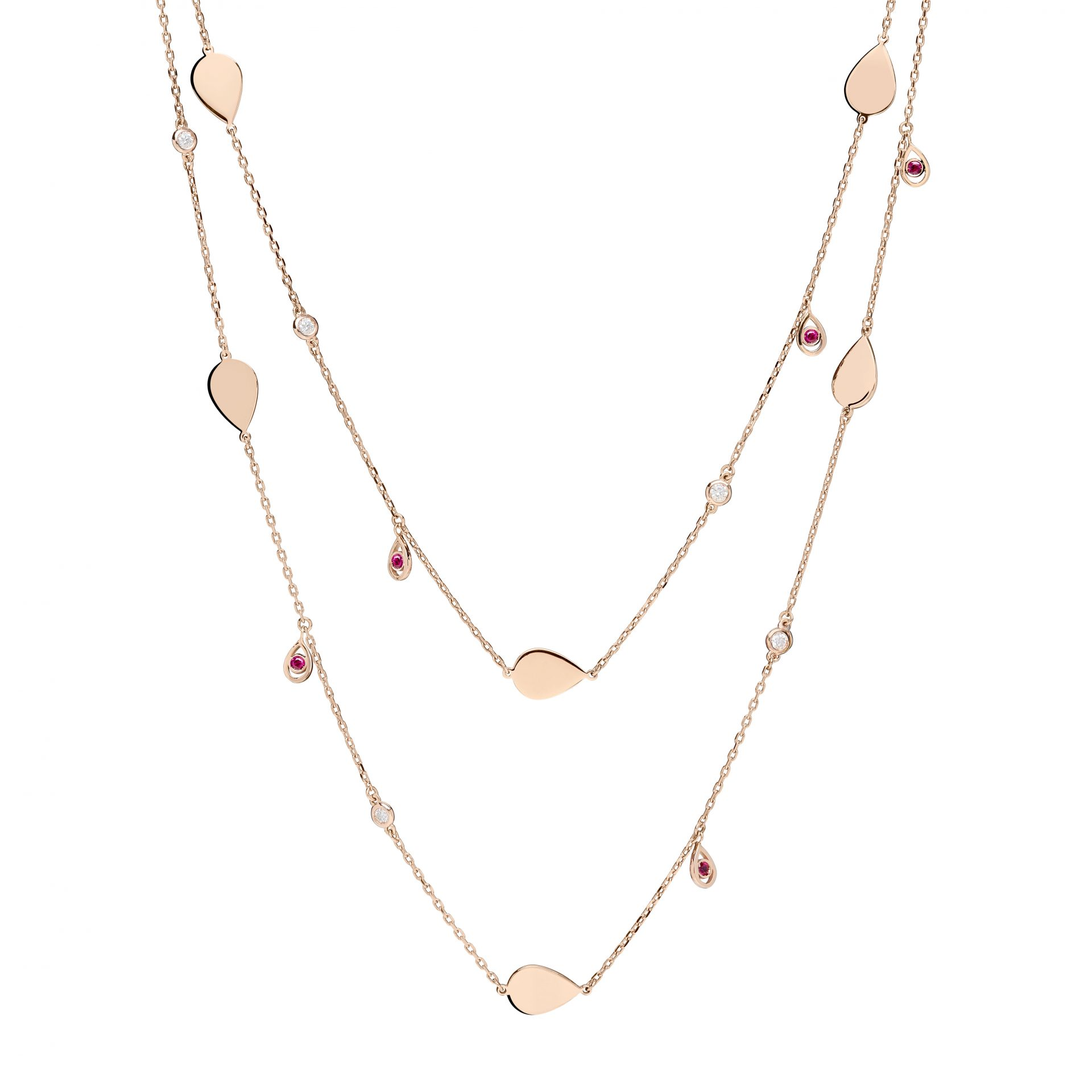 Ruby Candy Necklace
