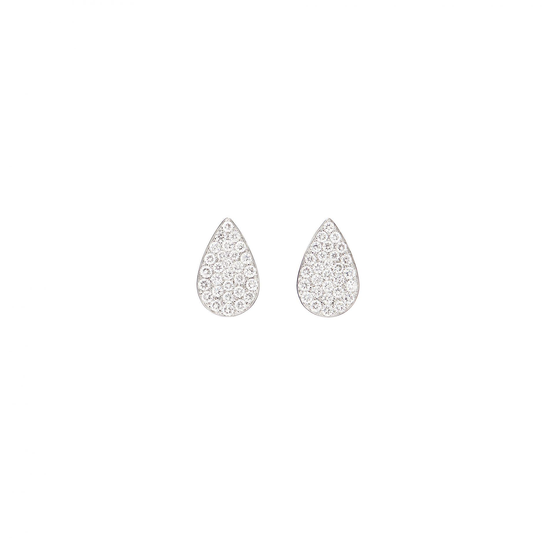 Paved Earrings