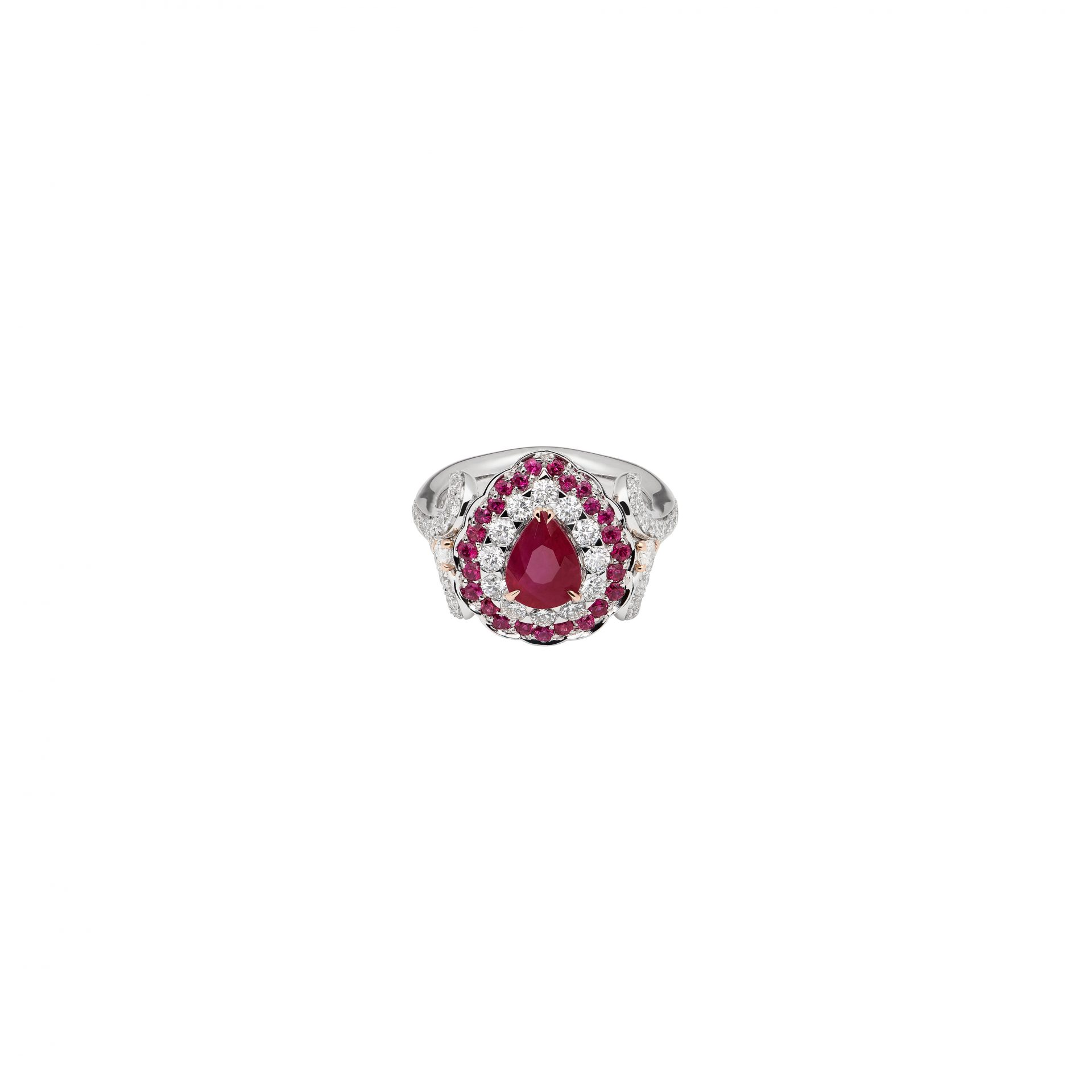 La Broderie Rouge Ring