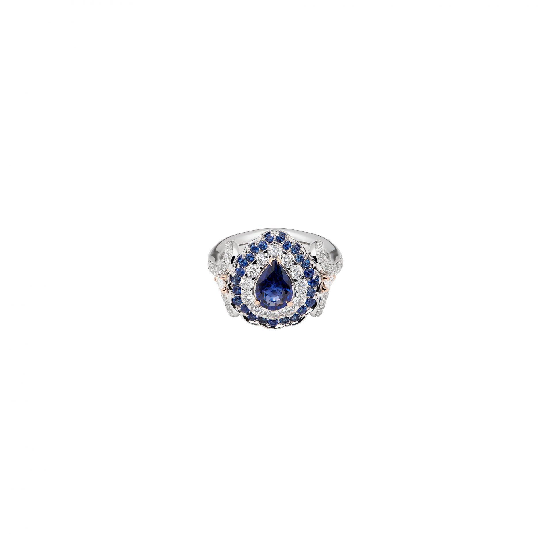 La Broderie Bleue Ring