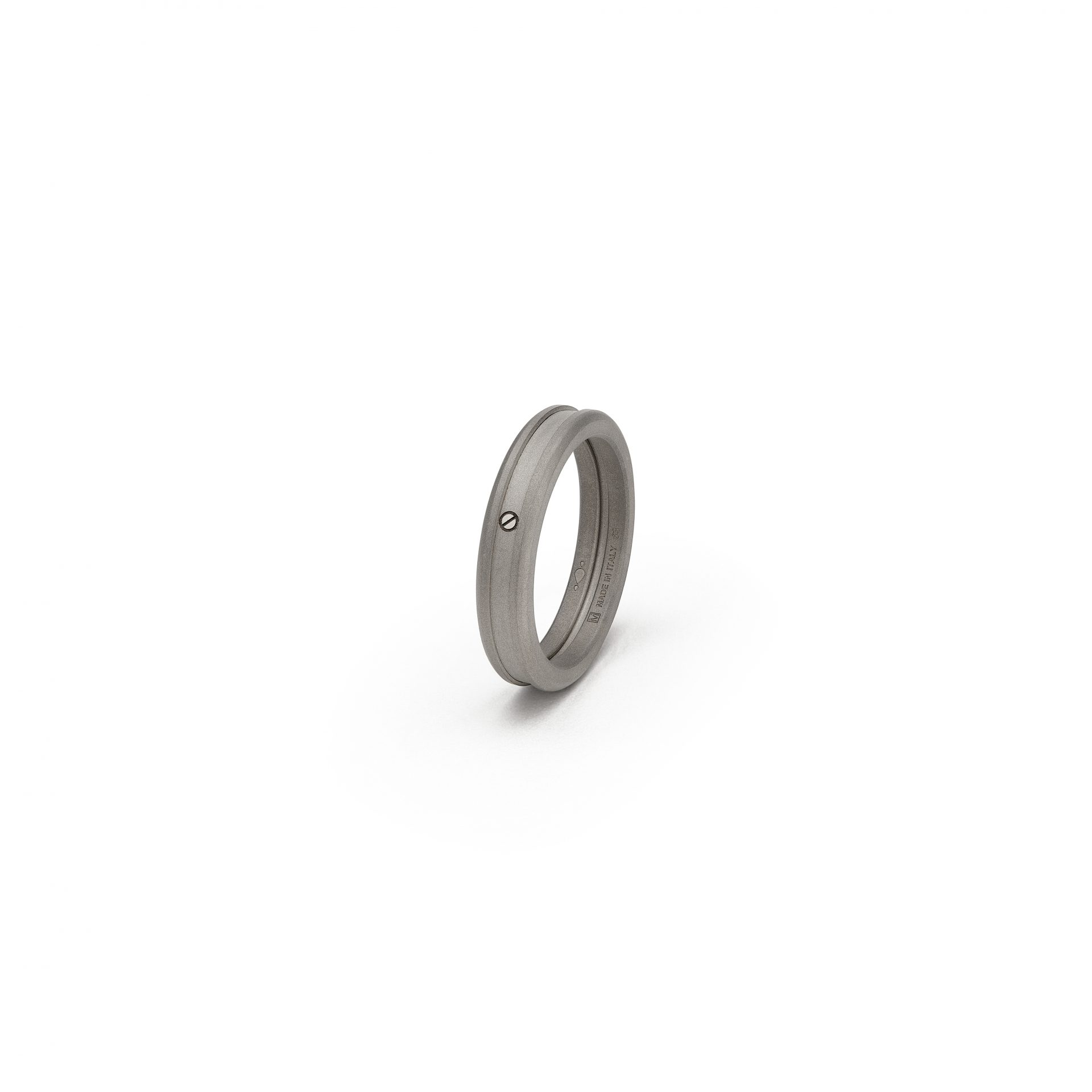 Slim T Band Ring