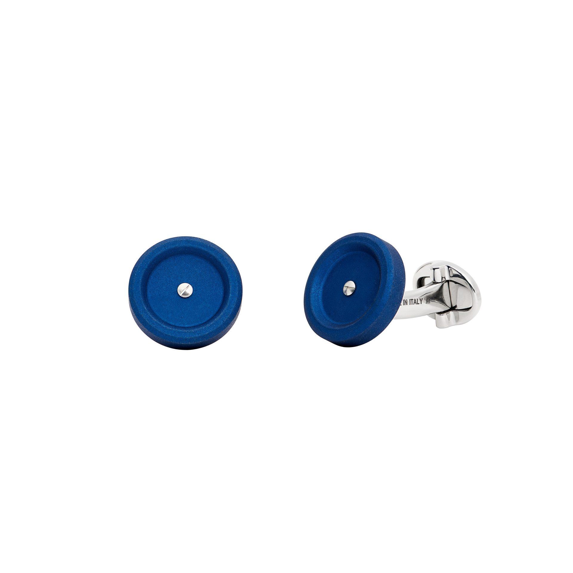Mini Blue Cufflinks