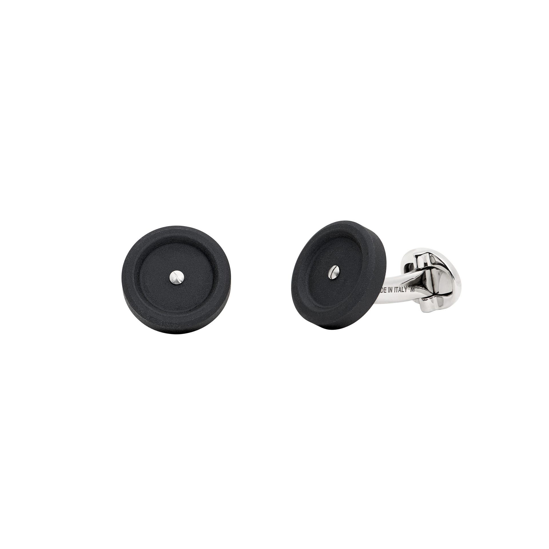 Mini Black Cufflinks