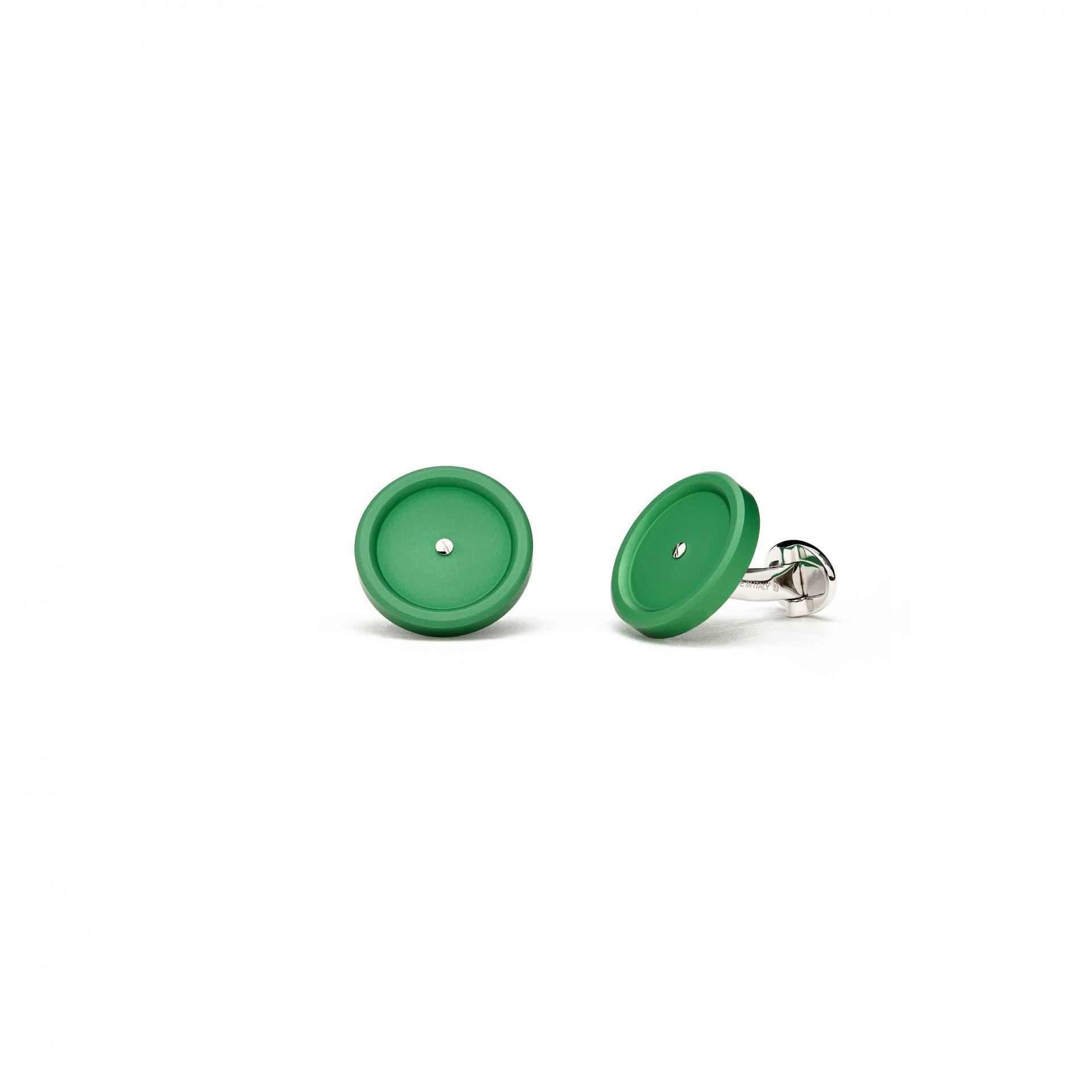 Classic Green Cufflinks